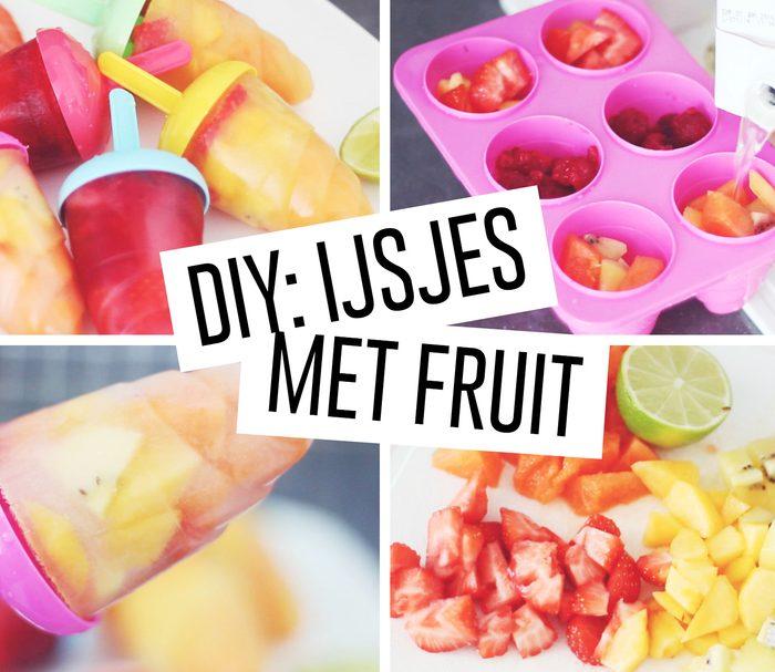 DIY: IJSJES MET VERS FRUIT