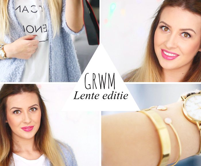 Get ready with me | Lente editie!