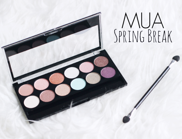 MUA Spring Break Palette