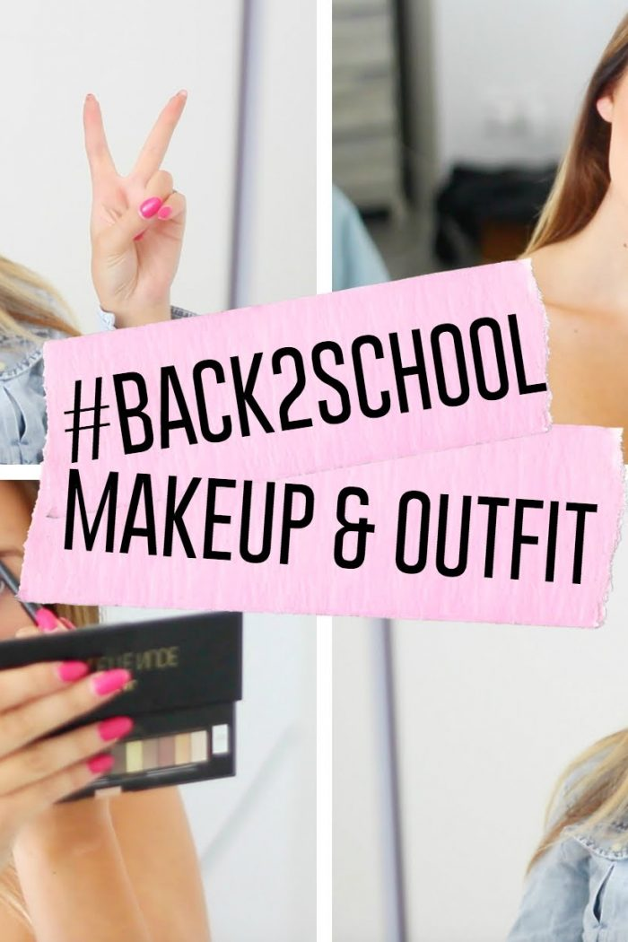 #BACK2SCHOOL | Make-up & outfit!