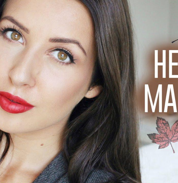 Herfst make-up look