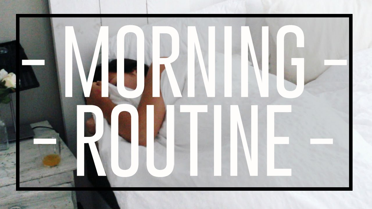 Herfst ochtend routine