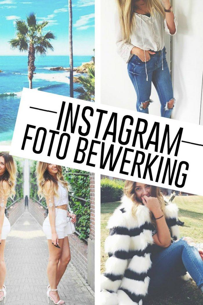 Hoe ik mijn Instagram foto's bewerk!