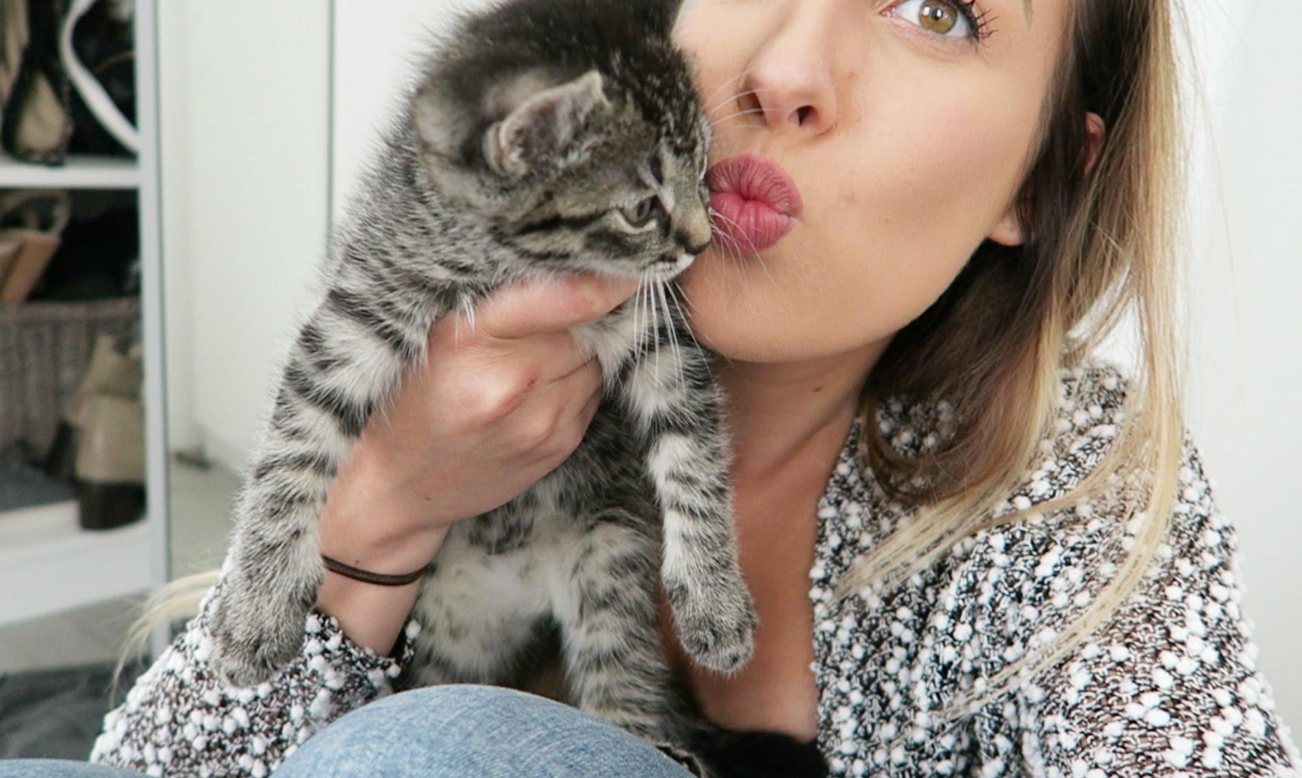 VLOG #88 – BABY KITTEN!