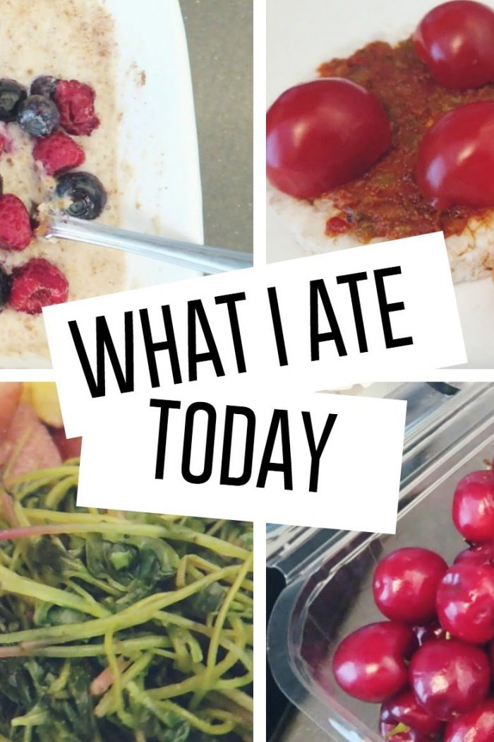 What i ate today #1